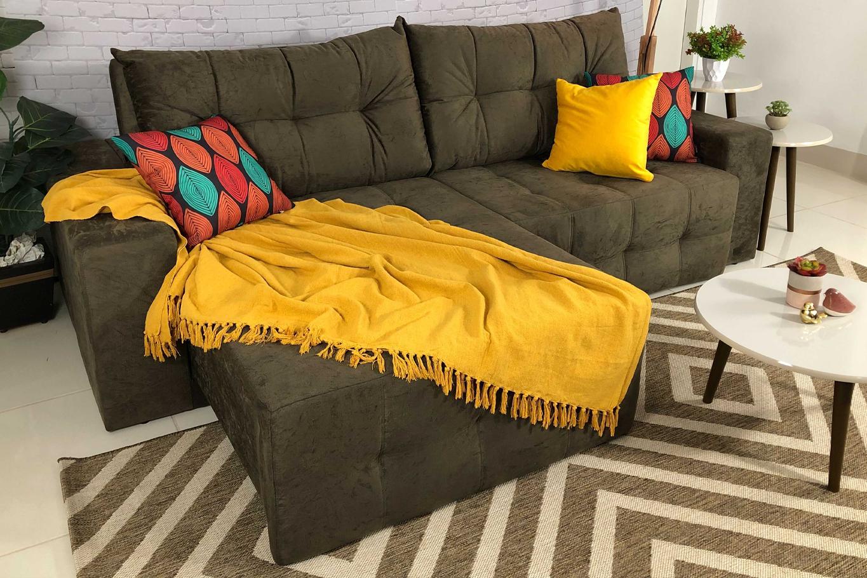 Saiba como usar a manta para sofá