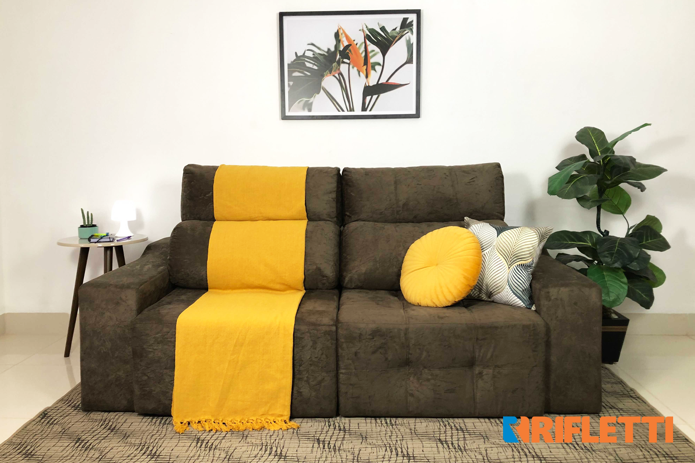 Saiba como escolher o sofá ideal para sala pequena