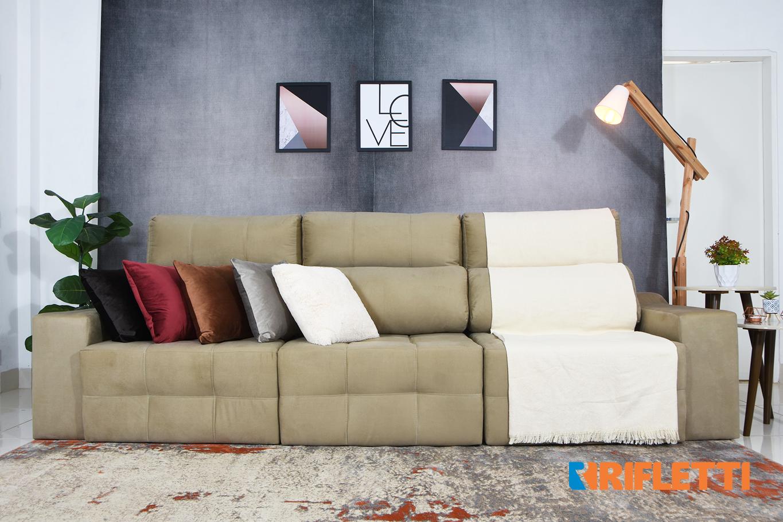 3 Motivos para comprar o sofá Connect 6 lugares da Rifletti